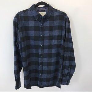Weatherproof men's Blue flannel shirt M